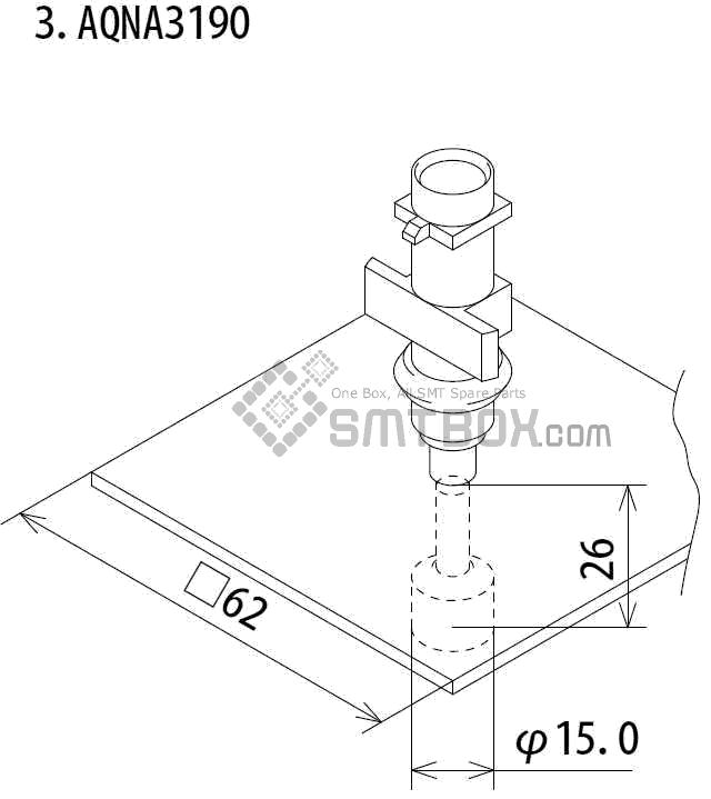 SMT设备及SMT配件 - FUJI IP3 IPIII IP3E IPIIIE系列SMT贴片机SMD元件吸嘴Nozzle