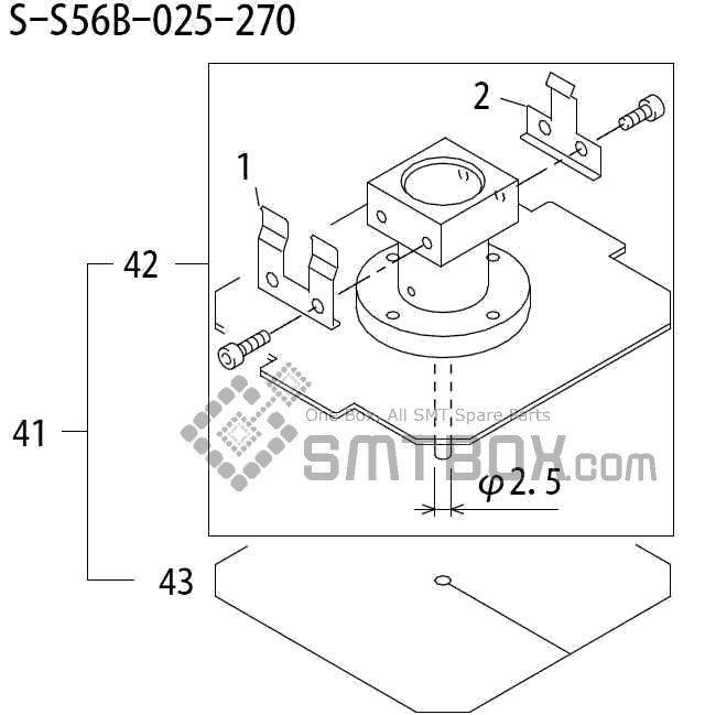 SMT设备及SMT配件 - FUJI富士QP2 QP241 QP241E QP242 QP242E QP242ME系列SMT贴片机SMD电子元件Nozzle吸嘴